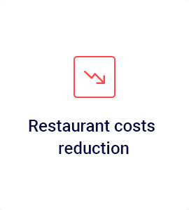 Staff costs reduction